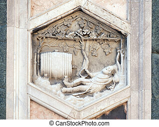Noah by Collaborator of Andrea Pisano, 1334-36., Relief on ...