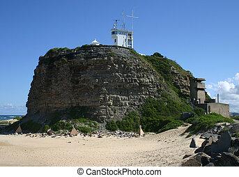 Nobbys lighthouse - Newcastle Australia. A local landmark.