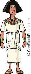 nobleman, oud, egyptisch