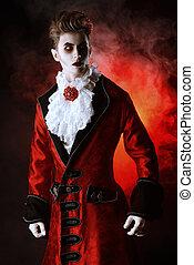 nobleman vampire - Bewitching handsome male vampire....