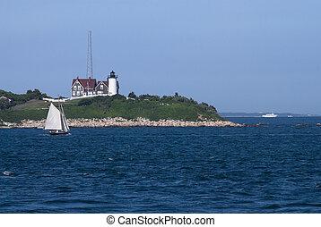 Nobska Lighthouse View