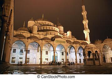 noc, meczet