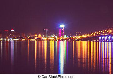 noc, miasto