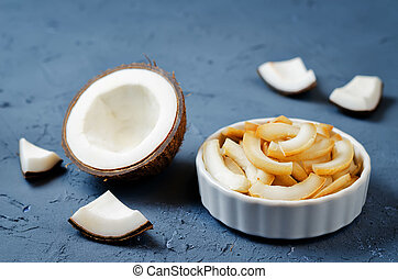 noce di cocco, fiocchi