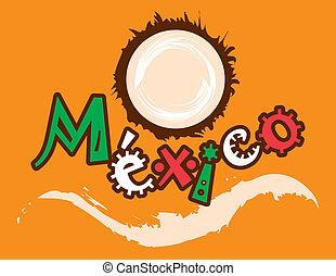 noce di cocco, messicano