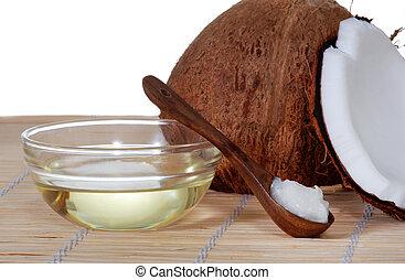 noce di cocco, olio