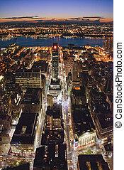 noche de moda, ciudad nueva york