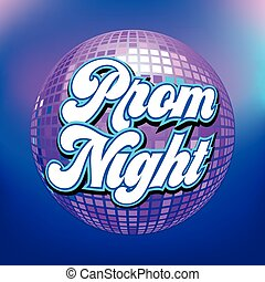 noche, o, plano de fondo, aviador, prom, cartel, fiesta