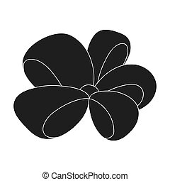 Node, ornamentals, frippery, and other web icon in black ...