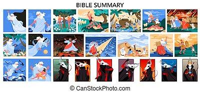 noeh, mortal, eva, pecados, set., adán, siete, narratives, biblia