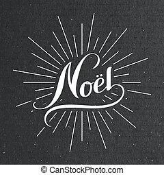 noel, alegre, navidad., joyeux