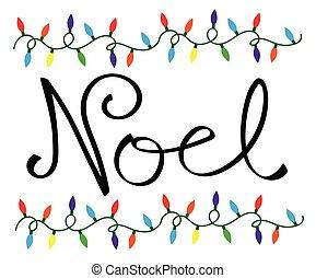 Noel Christmas Lights