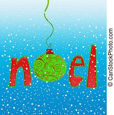 noel, em, snowflakes