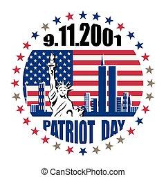 noi, dimenticare, mai, patriota, volontà, giorno