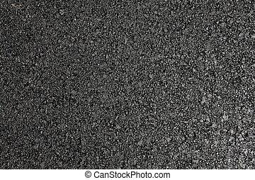 noir, asphalte, texture