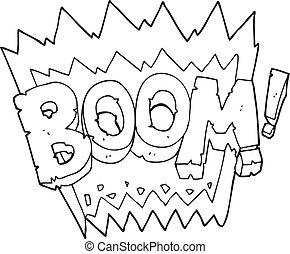 Bo te blanc noir boom dessin anim bo te noir boom - Boom dessin anime ...