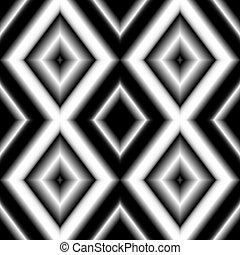 noir, couleurs, gradient, seamless, toile fond., blanc, coloré, rhombs, texture.