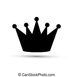 noir, couronne