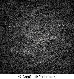noir, fissures, pierre, rocher blanc