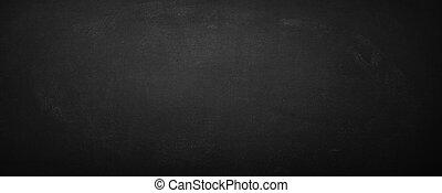 noir, planche, fond, tableau, horizontal