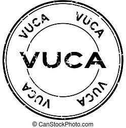 noir, rond, ambiguity), grunge, timbre, volatility, vuca, cachet, complexité, blanc, mot, incertitude, (abbreviation, fond, caoutchouc