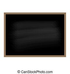 noir, tableau, vecteur, fond