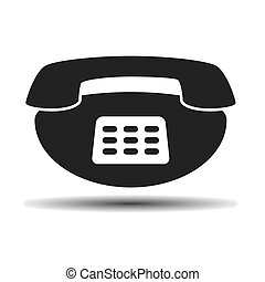 noir, vieux, vendange, téléphone