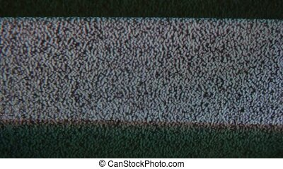 noise bad signal interference screen tv the television -...