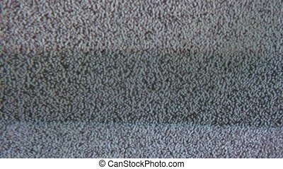noise bad signal tv interference screen the television -...