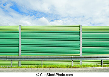 Noise barrier - Green noise barrier