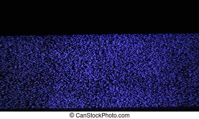 Television static noise