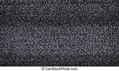 noise tv background. Television screen with static lifestyle...