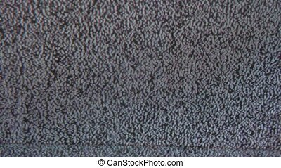 noise tv bad signal interference screen the television -...