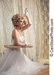noiva, branca, weddng, vestido
