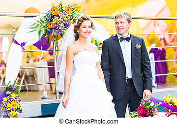 noivinhos, recepção, casório