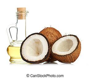 noix coco, huile
