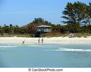 Nokomis Beach on the Gulf of Mexico