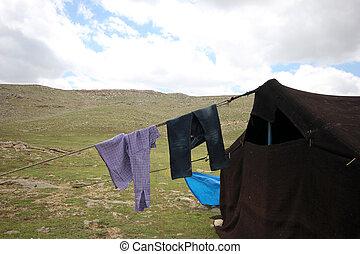 nomadische leute