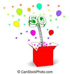 cinquantième anniversaire de naissance