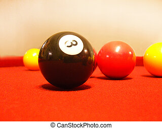 nombre, regroupez boule, huit