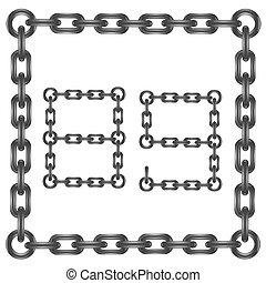nombres, chaîne