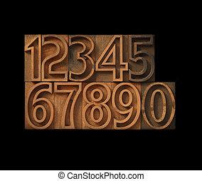 nombres, type, contour