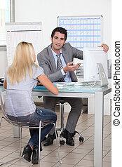 nomeação, negócio