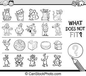 non, cosa, gioco, adattare, cartone animato