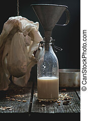 Non-dairy almond milk