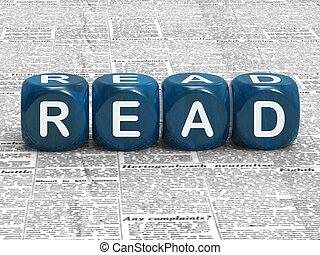 non-fiction, spielwürfel, lesen, buecher, bildung, oder, mittel
