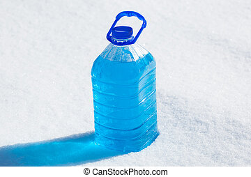 non-freezing, konzerv, folyékony, takarítás