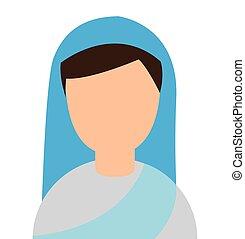 non, religie, vrouw, karakter