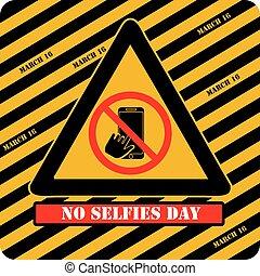 non, signe, jour, industriel, selfies
