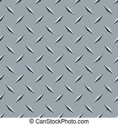non-skid treadplate steel seamless pattern - non-skid...